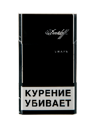 -Сигареты Davidoff - Black King Size Super Slims