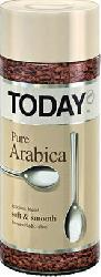 Кофе Today - Pure Arabica сублимированный с/б 95гр