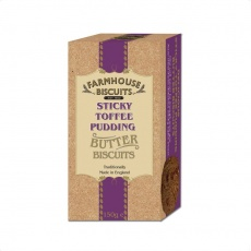 Печенье Farmhouse Biscuits - Toffee Pudding 150 гр