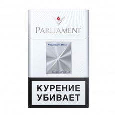 Сигареты Parlament - platinum blue